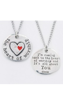 The Heart of Worship Necklace