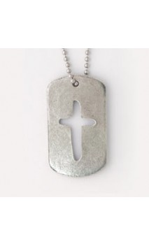 J.C.I.D Rounded Cross Tag Pendent