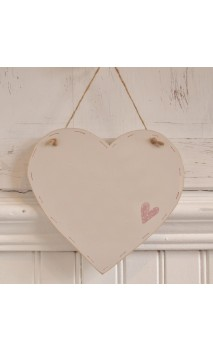 Md Wooden Heart Blank plaque - Small Heart
